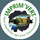 Imprimeur certifie imprim vert logo