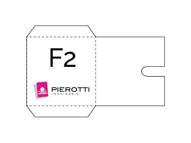 Pliage pochettes CD F2
