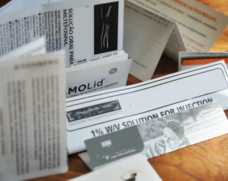 Impression pliage notices pharmaceutiques